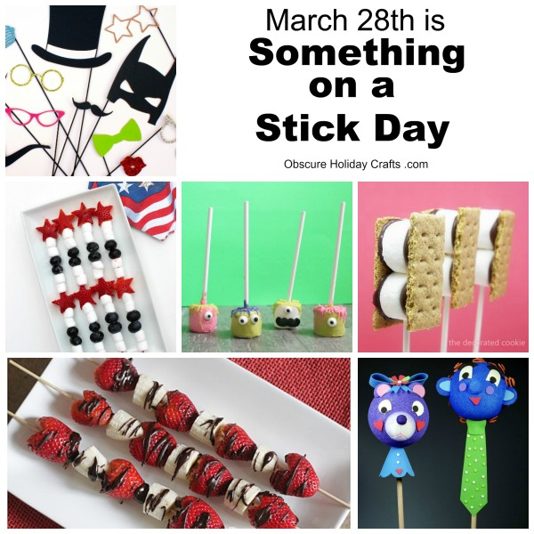 something on a stick day